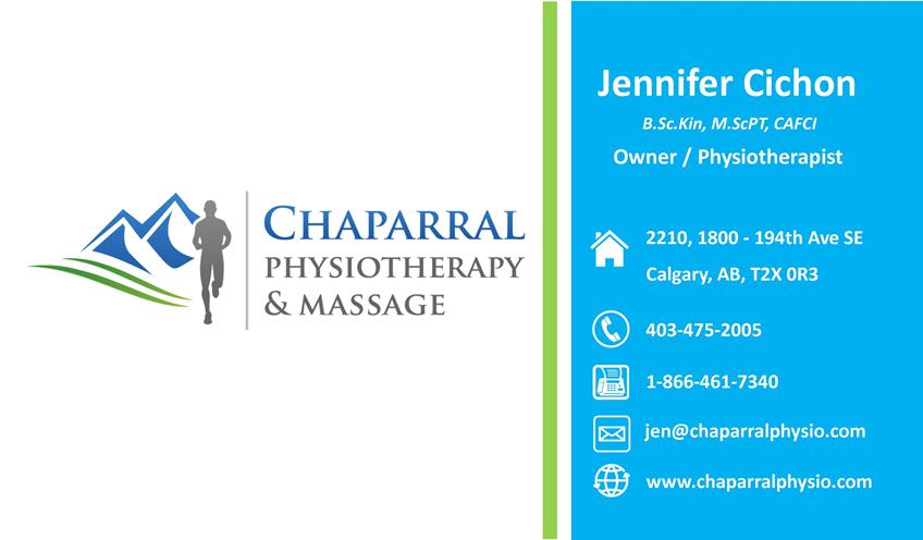 Team airdrie physiotherapy massage jen is a physiotherapist and the proud owner of chaparral physiotherapy massage she graduated from the university of waterloo with a bachelor of colourmoves